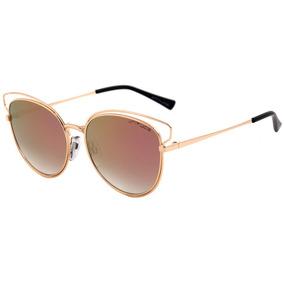 Atitude At 3180 - Óculos De Sol 04b Dourado Brilho/ Rosa