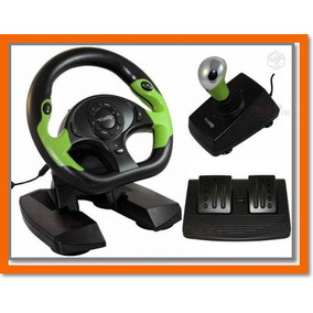 Volante Profissional P/ Todos Jogos Corrida Xbox 360 E Pc
