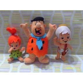 Picapiedras Pebbles Pedro Y Bam Bam Muñeco Mc Donalds Gabym