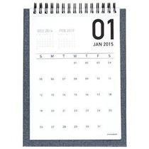 At-un Vistazo-mensual Escritorio Caballete Calendario 2016,