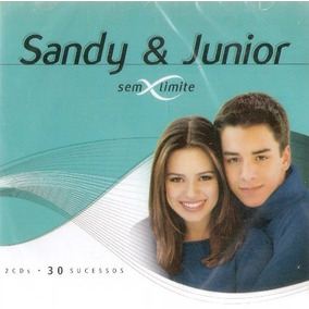 Cd Sandy E Junior - Sem Limite 30 Músicas Box 2 Cds Lacrado