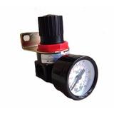 Regulador De Pressão P Compressor Com Manômetro 1/4 Ar2000