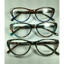 Armação Para Óculos De Grau Colorida Moderna Feminina