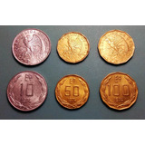 Lote #1 Monedas 10, 50 Y 100 Escudos 1974 Dictadura Chile