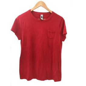 Sweater Remera Gap Mujer Roja De Hilo Talle L