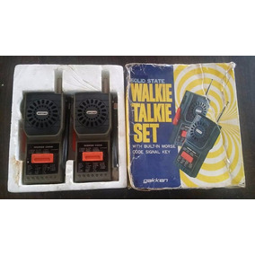 Antiguo Walkie Talkie Set. En La Plata