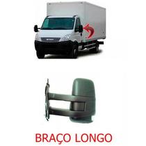 Retrovisor Iveco Daily 08 A 15 Braço Longo Manual Esquerdo