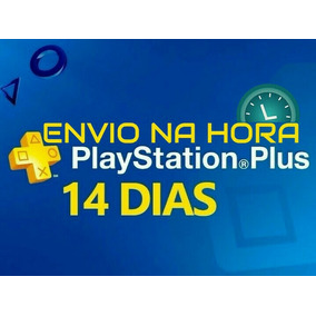 Playstation Psn Plus 14 Dias Ps4 E Ps3 | Envio Imediato