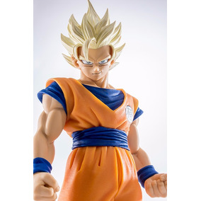 Figure Son Goku Ssj2 Dragon Ball Scultures Big - Banpresto