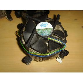 Fan Cooler Pc Cpu 775 Intel Original Clips Nuevos + Garantía