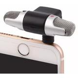 Microfono Estereo Iphone Android Camara Grabar Con Envio