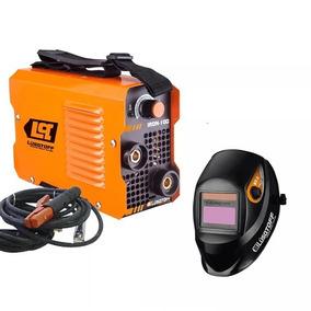 Soldadora Inverter Lusqtoff Iron100+mascara St1x+electrodo