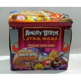Angry Birds Star Wars Cartas Trading Card Caja 36 Sobres