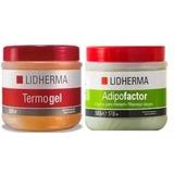 Promo X 2 Tamaño Grande: Adipofactor+ Termogel. Lidherma.