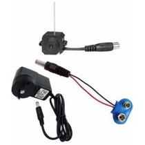 Micro Câmera Sem Fio Com Fonte Para Reposição (sem Receptor)