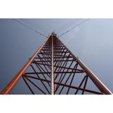 Tramo De Torre Arriostrada Stz45g Zonas Humedas