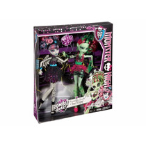 Bonecas Monster High Zombie Shake Rochelle Goyle E Venus Mcf