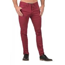 Pantalon Chupin Color Talle Especial 50-52-54-56-58 Elastizd