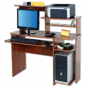 Mesa Escritorio Pc Platinum 9017 Oficina Bandeja Extraible