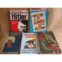 Lote 5 Livros Hitler Pros Contra Por Dentro 3º Reich Outros