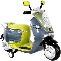 Motoneta Mini Cooper Juguete Montable Electrica Recargable