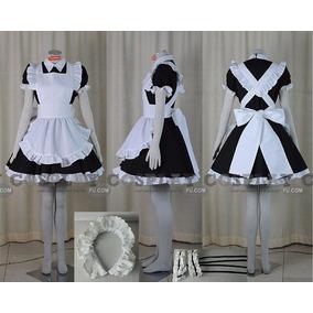 Cosplay Maid Anime Disfraz Vestido Maid Lolita