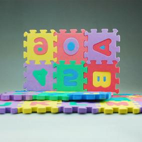 Alfombra De Foami Para Bebé Y Niño 36 Piezas 8x8 56x78 Cm