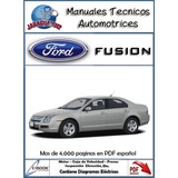 Manual De Taller Y Diagramas Electricos Ford Fusion Español