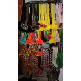 Cintillos Con Borlas Wayuu