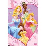 Poster Importado Princesas De Disney ( Rapunzel, Cenicienta,