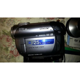 Filmadora Dvd Sony Handycam Con Varios Accesorios