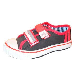 78a374de8 Zapatillas Rojas De Lona N - Zapatillas Jaguar para Niños en Mercado ...