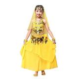 Muchachas De Tenworld 2pcs Top Skirt India Trajes De Danza