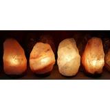 Lamparas De Sal Del Himalaya De 2,5kg, Las Autenticas!!