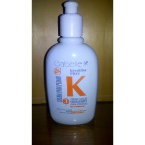 Crema Capilar Hidratante Para Peinados Con Keratina