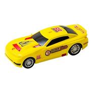 Auto Carrera Amarillo Hot Wheels A Friccion 22cm F96700