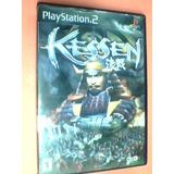 Kessen - Ps2 - Original - Completo Con Caja Y Manual