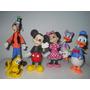 Personajes De Mickey Mouse En Porcelana Fría (6 Personajes)