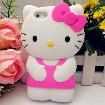 Iphone Funda Iphone 5s 5c 6 Hello Kitty Cuerpo Silicon Case