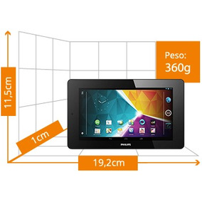 Tablet Philips, Andro 4.2,tela 7,du Core,wi-fi Camera Fronta