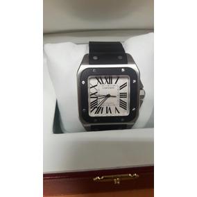 Cartier Santos 100 Cartier Xl Hombre Full Set Rolex Panerai