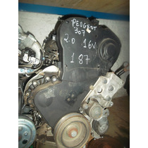 Motor Parcial Do Peugeot 307 2.0 16v Com Nota