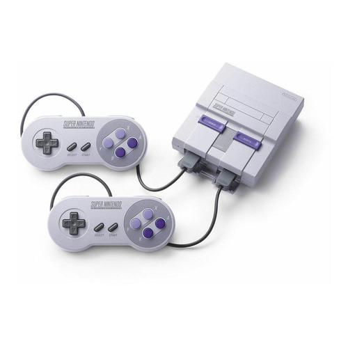 Nintendo Super NES Classic Edition 512MB gris/violeta