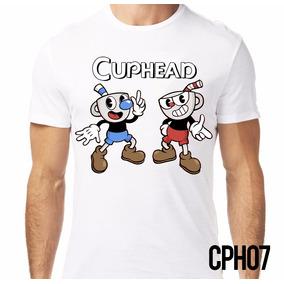 Playera Retromania Cuphead And Mugman Two Brothers $220