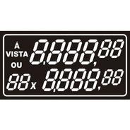 Etiqueta De Pvc 70 Mm X 37 Mm  Com 50 Unidades Preço