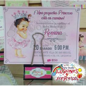100 Invitaciones Impresas Para Baby Shower Económicas