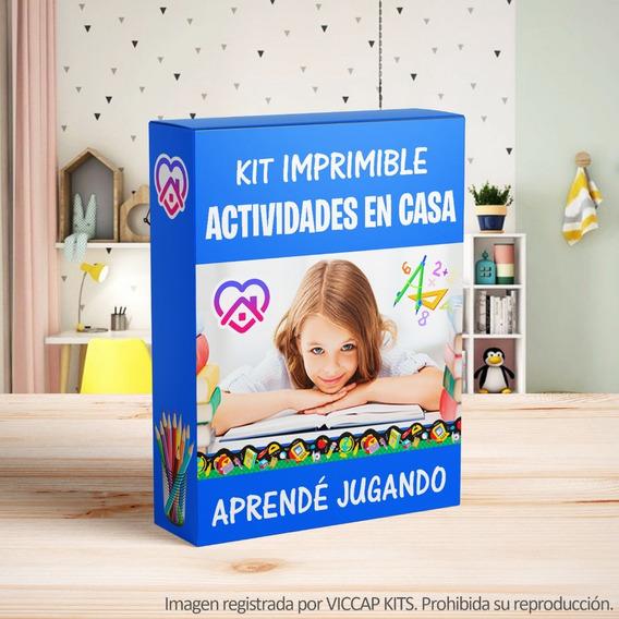 Kit Imprimible Actividades Para Ni?os En Casa