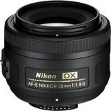 Lente Nikon 35mm F/1.8g. Nuevo. R Y M