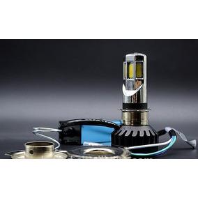 Lampada 3500lm Super Led H4 Motos Efeito Bi Xenon 6 Leds