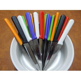 Cuchillo Mango Color Plastico
